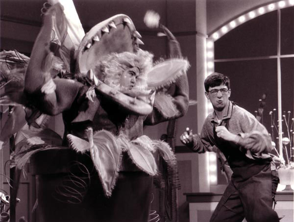 "As Seymour in ""Little Shop of Horrors"""